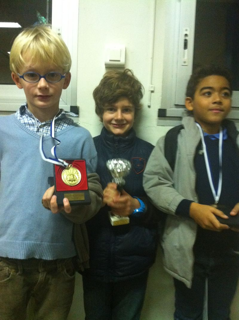 Championnat départemental : Georges vice-Champion, Milan et Guillaume qualifiés !